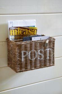 Coming Soon | Rivièra Maison Rustic Rattan Post Basket