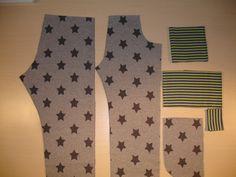 Werkbeschrijving broekje SilkeWat heb je nodig?Joggingstof, tricotstof of babyrib, pyama-elastiek, boordstof.Voor de maten 80-98:Stof 40-50 cm, boord 30 cm voor de taille, zakjes als voor de pijpjes, minimaal 30cm dubbel breed, pyama-elastiek halve meter.Voor de maten 104-122:Stof 55-65 cm, boord 30 cm voor de taille, zakjes en de pijpjes, minimaal 30 cm dubbel breed, pyama-elastiek 0,55 cm.Voor de maten 128-140:Stof 70-80 cm, boord 30 cm voor de taile, zakjes en de pijpjes, minimaal 30 cm… Kids Patterns, Sewing Patterns, Harem Pants, Pajama Pants, Baby Leggings, Baby Kind, Diy For Girls, Sewing For Kids, Sewing Clothes