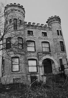 "Givens Castle...One of the most haunted sites on the South Side of Chicago is the Beverly Unitarian Church or ""The Castle."" The Castle is located on 103rd and Longwood in the Beverly neighborhood of Chicago. Robert Givens, a successful real estate developer turned author, built the Castle in 1886 and requested that it be modeled after the ancient estates in his native Ireland. Some people say that Givens built the house as a gift for his fiance who died before the house was finished."