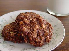 Chocolate, Oatmeal, Peanut Butter No Bake Cookies