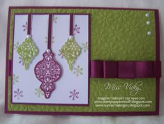 Christmas... by Miss Vicky - Cards and Paper Crafts at Splitcoaststampers