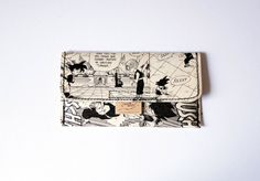 DRAGON BALL tobacco pouch Manga upcycling unique piece from PauwPauw on Etsy