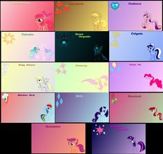 Pony Wallpaper Pack by InsaneKitteh