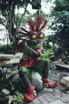 Skull Kid - The Legend of Zelda: Majora's Mask cosplay is pretty epic.