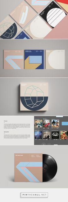 Les pochettes d'Oasis en mode minimaliste
