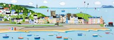 Beautiful Beaumaris by Janet Bell – Janet Bell Gallery, where i will be getting Married next April. Pray for sunshine!