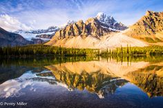 Mirrored Mountains - these were taken in October 2015 near Banff Canada.