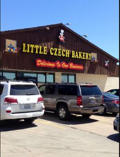 You HAVE to stop in West, Texas, on any road trip North. An enclave of Czech immigrants means that you can find the best Czech pastries around, especially at Little Czech Bakery!