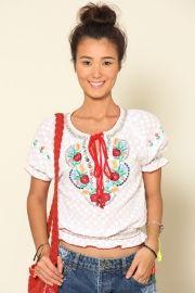blusa laise bordado mexicano