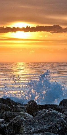 MASTER BATH ** Sunrise at Hunting Island State Park, South Carolin