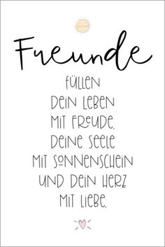 Friends (german) at Posterlounge ✔ Affordable shipping ✔ Secure payment ✔ Various materials & sizes ✔ Buy your print now! Motivation Movies, Friends Poster, Word Pictures, Inspirational Wall Art, Spiritual Quotes, Motivation Inspiration, Frames On Wall, Wise Words, Hand Lettering