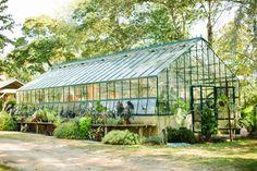 herb farm greenhouse. See www.stylemepretty.com
