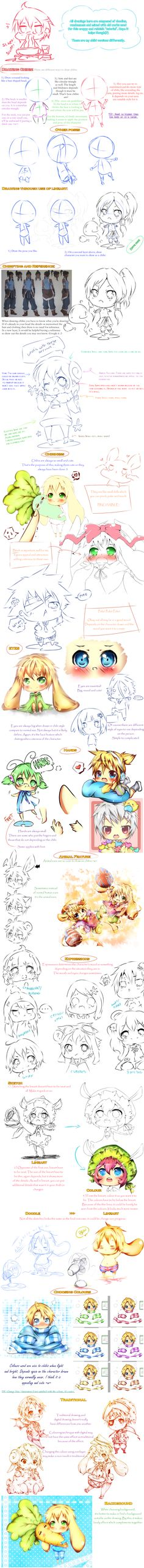 Tutorial: Chibi and stuffs by Haxelo.deviantart.com on @deviantART