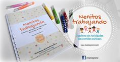 Cuaderno de Actividades para la estimulación temprana de niños de 2 y 3 años de edad. Desarrolla habilidades motoras finas y concentración. Descarga tu pack de regalo con solo un click.