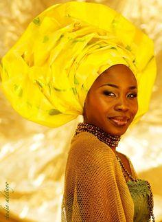 Turbantes - Moda Africana BHF MAGAZINE ÁFRICA