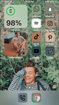 Iphone Wallpaper Tumblr Aesthetic, Iphone Background Wallpaper, Bio Instagram, New Iphone Update, Cute Home Screens, Iphone App Layout, Phone Themes, Ios Icon, Phone Organization