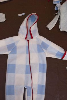 Baby Snowsuit Sewing Project