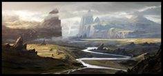 Landscape by Raphael-Lacoste on DeviantArt