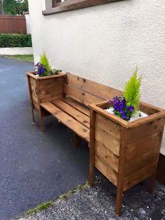 pallet-planter