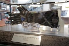"""""""These gloves & goggles have been ft over Dubai. Now they're housed in our lobby. Ghost Protocol, Mission Impossible, Tom Cruise, Movie Tv, Robot, Dubai, Toms, Tv Shows, Engineering"""