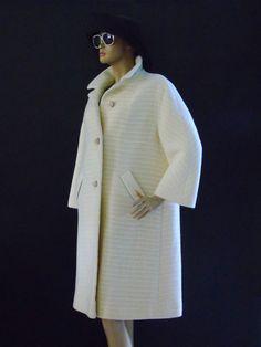 Retro Swing Dress Coat Sycamore ILGWU 1950s  by 777VintageStreet