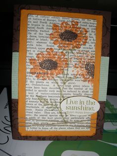 Stampin' Up! Field Flowers Stamp Set