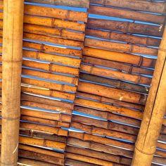 """Underneath a bamboo sky...Here's to a wonderful & fruitful week ahead!  xoxox #Malibu #Pacific #Ocean #Paradise #Gratitude #CornflowerBlue #Sky #Thankful"" Photo taken by @angelaywilliams on Instagram, pinned via the InstaPin iOS App! http://www.instapinapp.com (06/07/2015)"