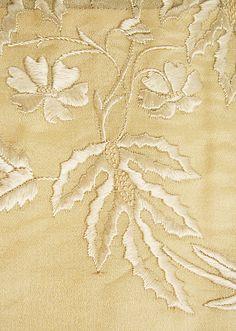 Wedding Dress  Date: ca. 1835 Culture: American Medium: silk, wool