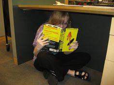 "Allison reading ""Watchmen"""