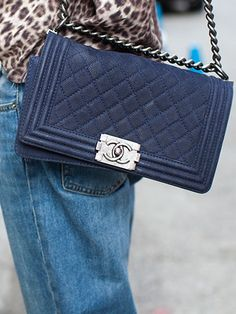 NYFW Model Street Style: Chanel Bag