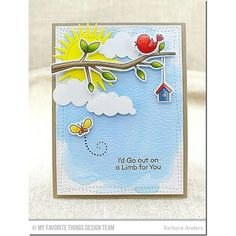 So many ways to use the super cute images in MFT'S April Release I'm Tweet On…