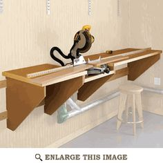 On-the-Mark Mitersaw Station Woodworking Plan