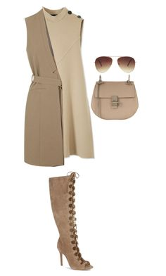 """#702"" by diva-996 on Polyvore featuring Derek Lam, Topshop, Schutz, Chloé and Forever 21"