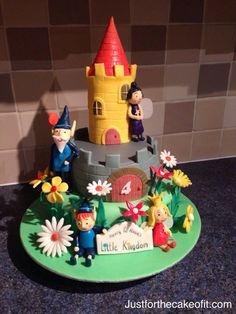 zx Girls 3rd Birthday, Harry Birthday, Bday Girl, Birthday Ideas, Bright Birthday Cakes, Special Birthday Cakes, Birthday Parties, Ben N Holly, Ben And Holly Cake