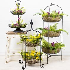 Hobby Lobby - Create stunning floral displays with our multi-tiered stands!