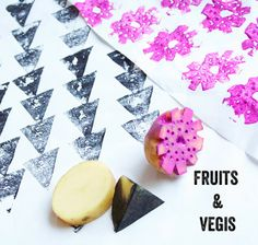 alisa burke: cut up fruits & veggies