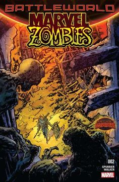 Marvel Zombies (2015-) #2: Stranded in the Deadlands and saddled with a mysterious child, Elsa Bloodstone is determined to traverse the zombie-ridden landscape and get home. But haunted by ghosts from her past, including visions of her stern father Ulysses Bloodstone, Elsa begins to realize it may not be the zombies she fears most.