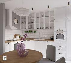 Aranżacje wnętrz - Kuchnia: Kuchnia, styl skandynawski - EG projekt. Przeglądaj, dodawaj i zapisuj najlepsze zdjęcia, pomysły i inspiracje designerskie. W bazie mamy już prawie milion fotografii!