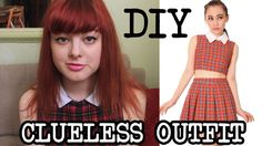 DIY Clueless Outfit - Make Thrift Buy #2. good tutorial on how to make a crop top!!