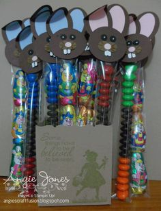 Angie's Craft Fusion: Easter Skinny Tubes