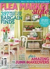 Great magazine for us flea market junkies.