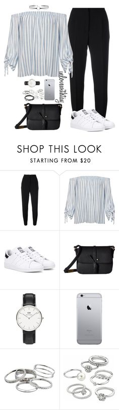 """93❤"" by inlovewithtay on Polyvore featuring mode, Dolce&Gabbana, Sans Souci, adidas Originals, Foley + Corinna, Daniel Wellington, Kendra Scott et Candie's"