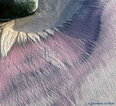 Purple sand at Pfeiffer Beach on the Big Sur coast. click through for more photos and info