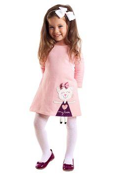 21 new ideas for fashion kids dress skirts Fashion Kids, Little Girl Fashion, Trendy Fashion, Women's Fashion, Cat Dresses, Little Girl Dresses, Outfits Niños, Kids Outfits, Casual Outfits