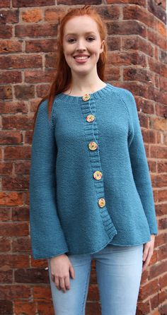 Hygge Cardy. Choice of sizes and colours. See colourchart in photos