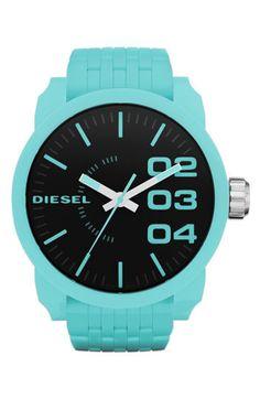 Diesel® Extra Large Round Plastic Bracelet Watch | Nordstrom on ShopCliq