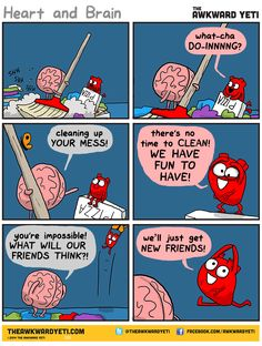 Cleanup. The awkward yeti comics. Preparing  for Thanksgiving
