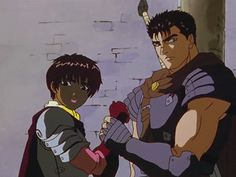 Berserk Casca and Guts Berserk Anime 1997, Guts And Griffith, Black Anime Characters, Fictional Characters, Kentaro Miura, Old School Cartoons, Black Magic, Akira, Pictures