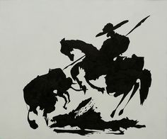"""Pablo Picasso's """"Bullfight I"""" is a perfect fit for Dad's man cave. #fathersday #giftguide #art"""
