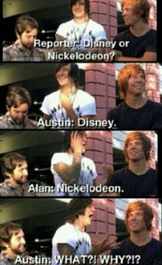 Austin Carlile and Alan Ashby! This was the most hilarious part of the whole interview!